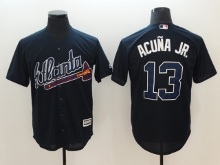 Wholesale Men's MLB Atlanta Braves Cool Base Jerseys (9)