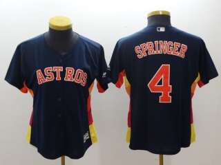 Wholesale Women's MLB Houston Astros Cool Base Jersey (36)