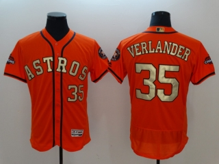 Wholesale Men's MLB Houston Astros 2018 Gold Program Flex Base Jersey (39)