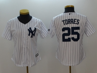 Wholesale Women's MLB New York Yankees Cool Base Jerseys (30)