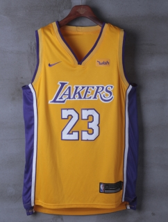 Wholesale NBA Lakers James #23 Nike Jerseys Player Edition (3)