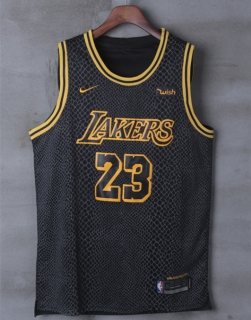 Wholesale NBA Lakers James #23 Nike Jerseys Player Edition (1)