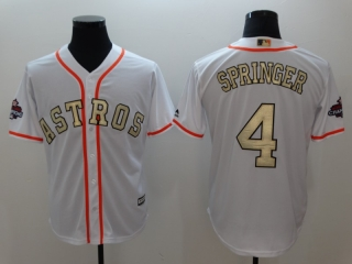 Wholesale Men's Houston Astros 2018 Gold Program Cool Base Jersey (6)